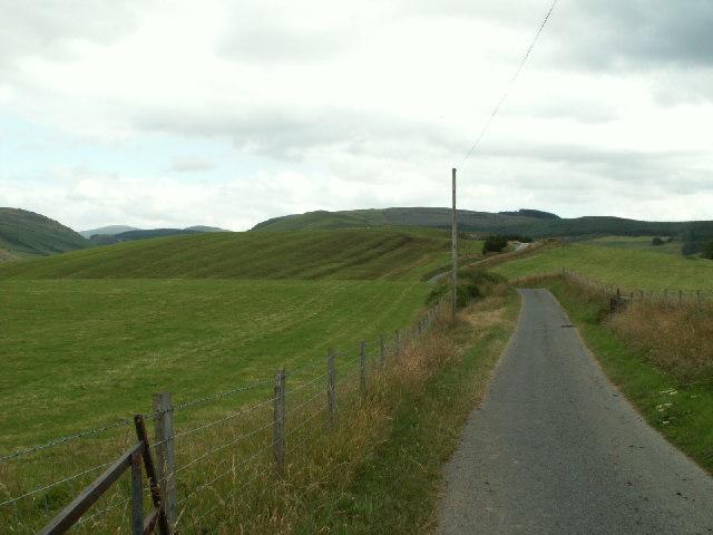 Pasture, near Llety-Ifan Hen