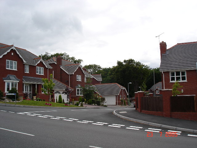 New houses at Old Colwyn