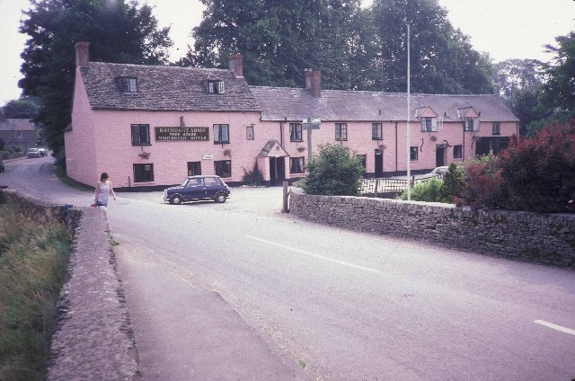 An inn at North Cerney
