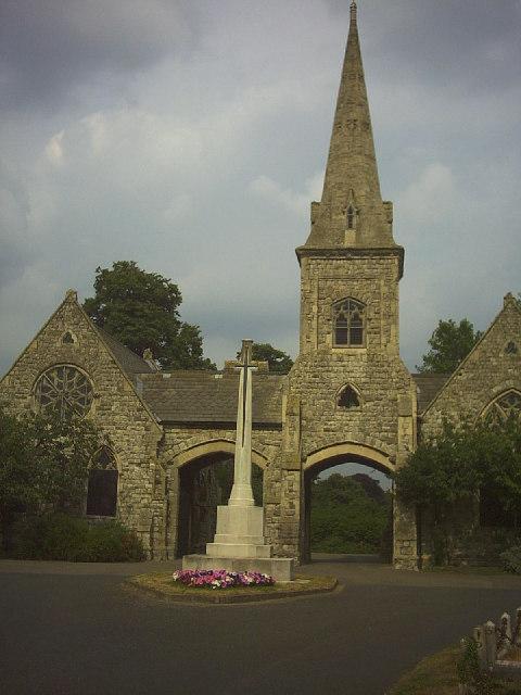 War Memorial, Queen's Road Cemetery, Selhurst
