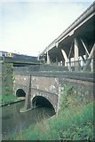SP0089 : Canals (and other lines of communication) at West Smethwick by Andrew Longton