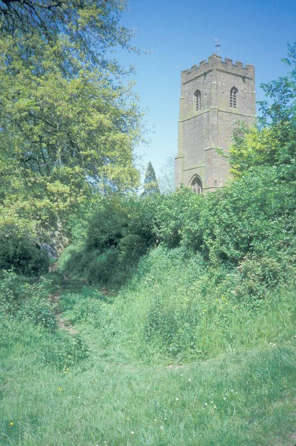 The church at Newbold-on-Avon