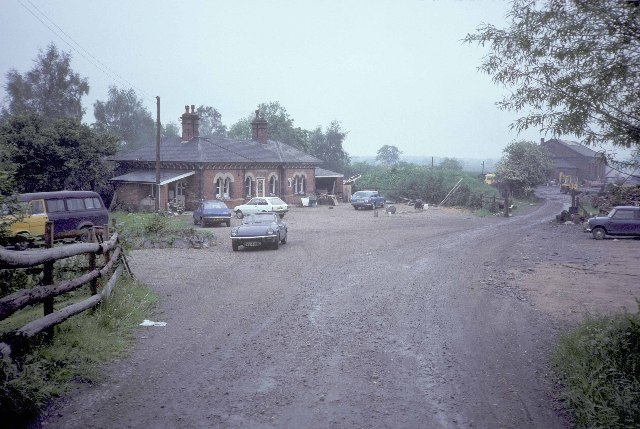 The remains of Stoke Golding station