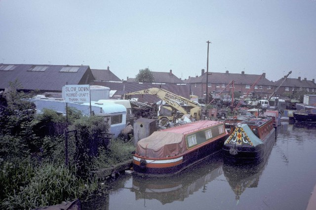 Gilbert Brothers' Charity Dock at Bedworth