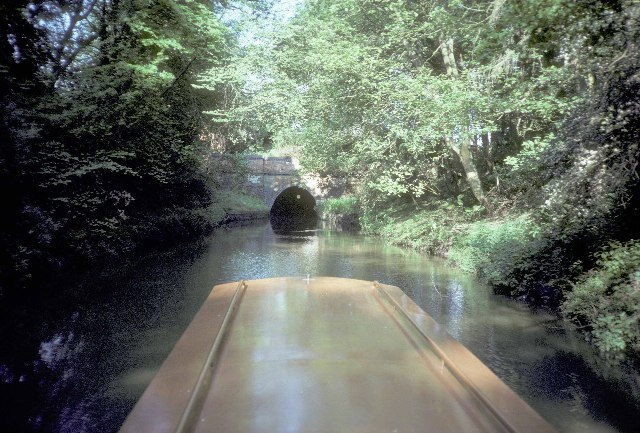 The north-east portal of Husbands Bosworth tunnel