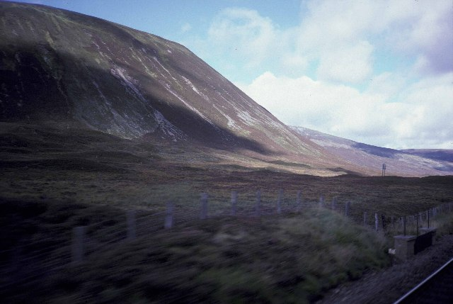 The Pass of Drumochter