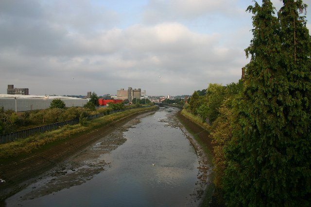 River Gipping at Ipswich