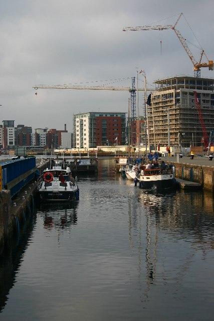 Locking into Ipswich Wet Dock