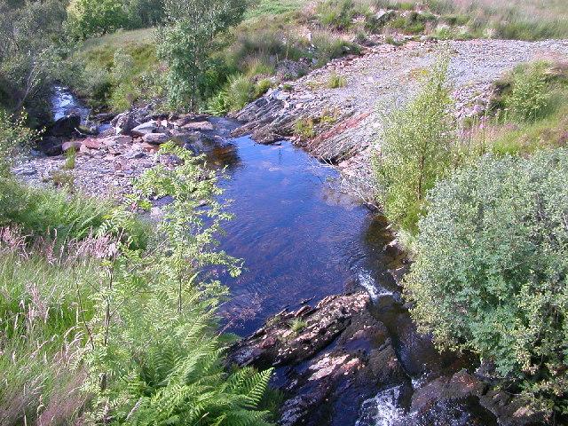 Stream in Gleann na h-Iola