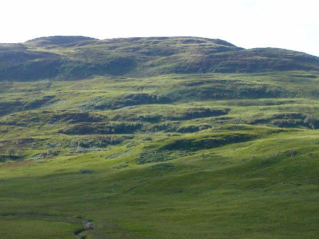 Hillside above Gleann na h-Iola