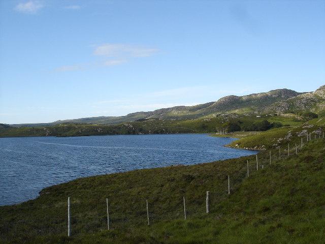 Eastern end of Loch Kernsary