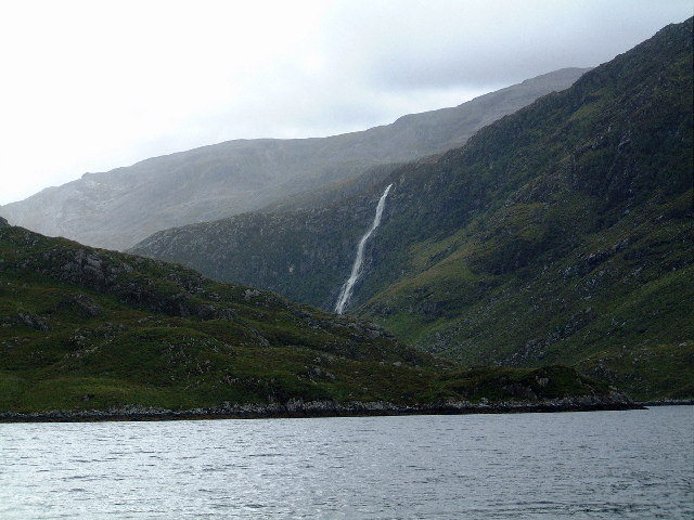Eas a Chual Aluinn from Loch Beag