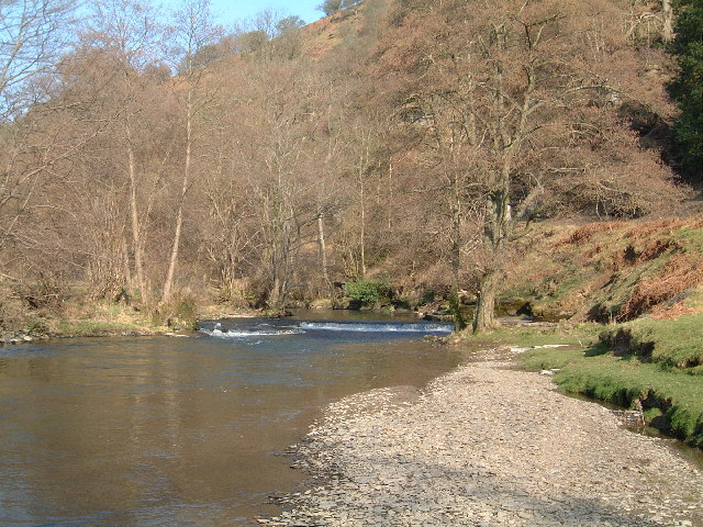 River Edw at Aberedw Radnorshire