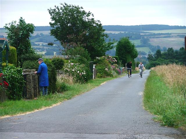 Public Bridleway, Hurbuck Cottages