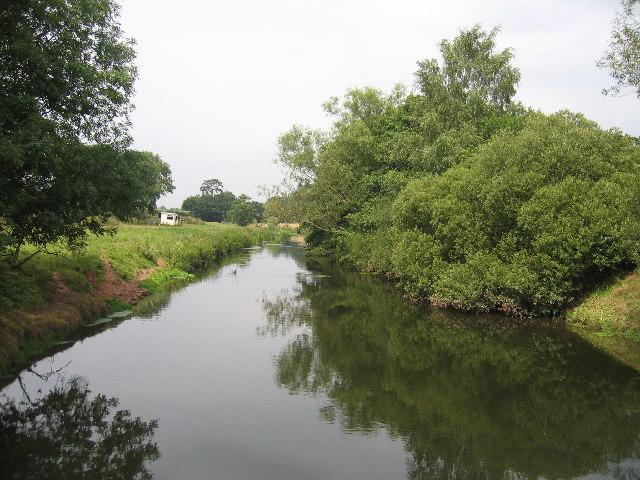 River Sowe near Stoneleigh
