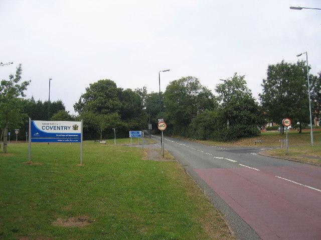 Coventry Boundary