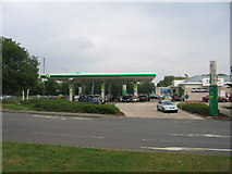 SP3375 : Finham Petrol Station by David Stowell