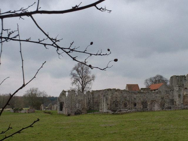 Ruins of Cluniac priory