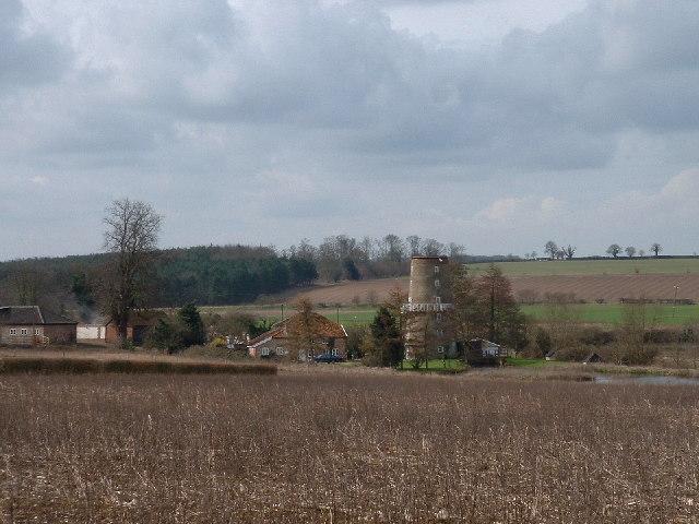 Field and windmill, near Little Cressingham
