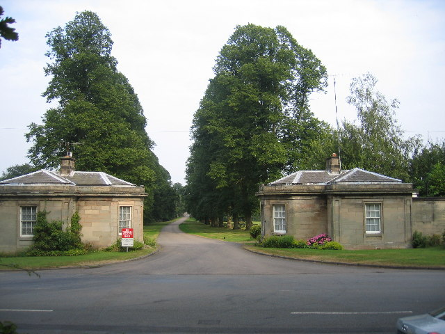 Grecian Lodges, Stoneleigh Abbey