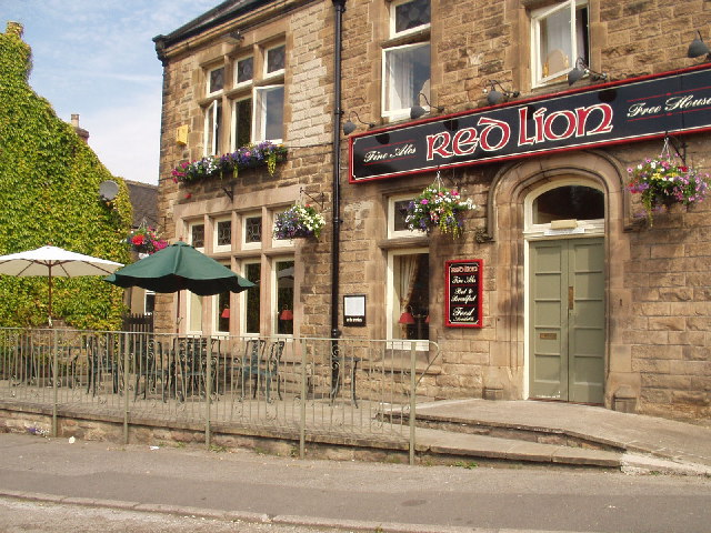 The Red Lion, Matlock Green