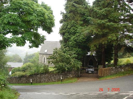 Former church near Bont y Gwyddel