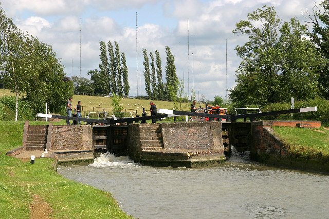 Hillmorton Top Lock