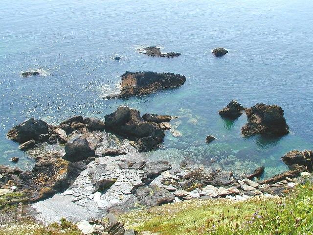 Rocks at Little Gribbin