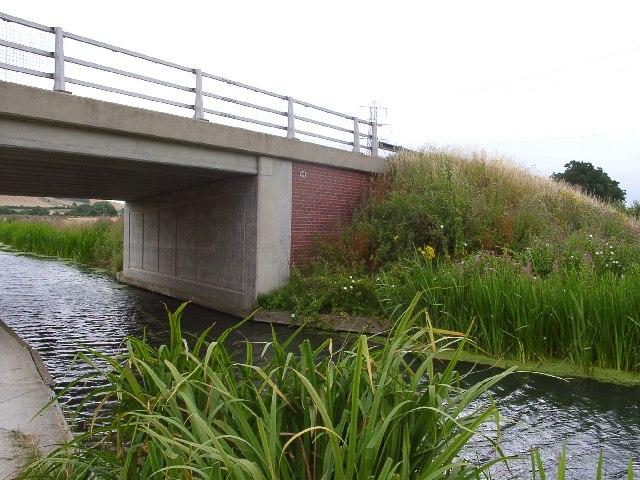 Casthorpe Bridge on the Grantham Canal, near Denton