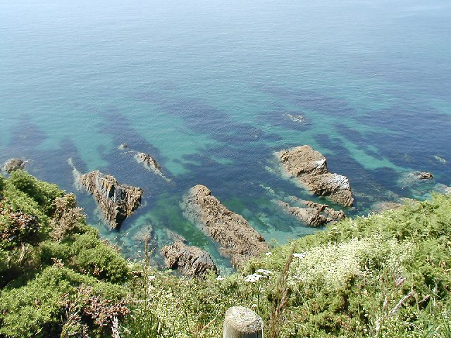 Rocks near Menabilly Barton