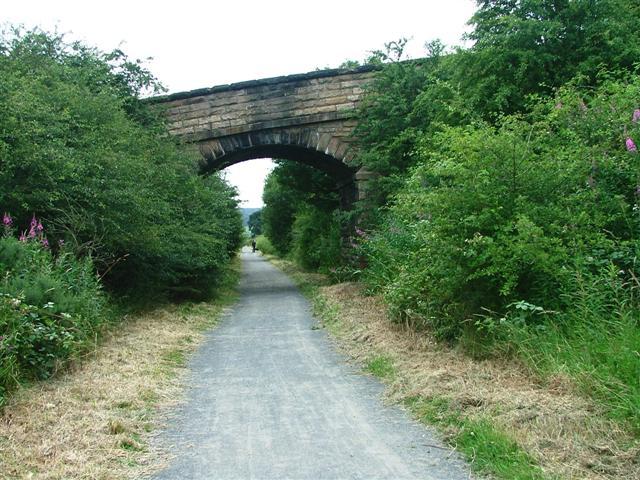Disused Railway Bridge, Lanchester Valley Walk