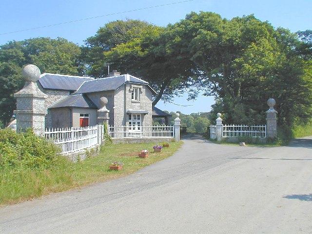 Gatehouse to Menabilly