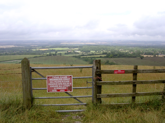 Field access for hang-gliders, Gallows Down
