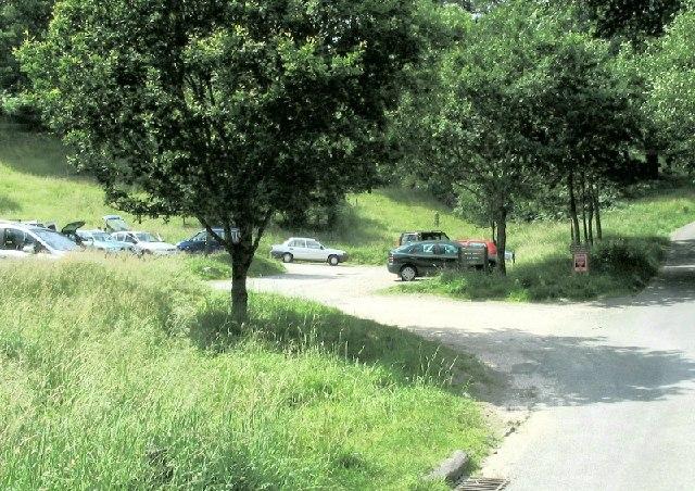 Car park near Pelter Bridge