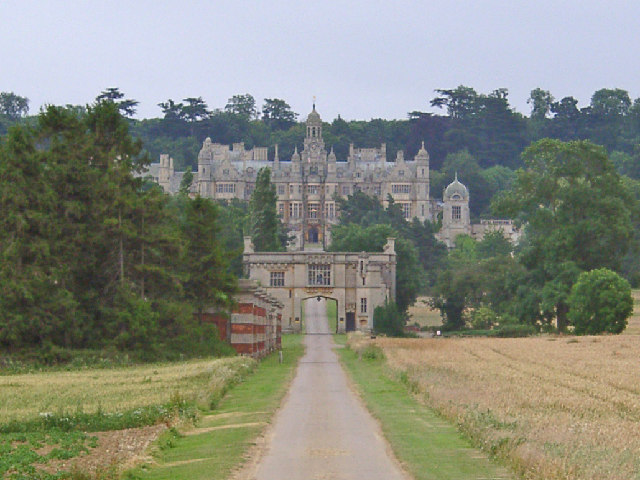 Harlaxton Manor, near Grantham