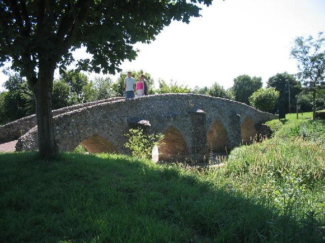 Moulton Packhorse Bridge