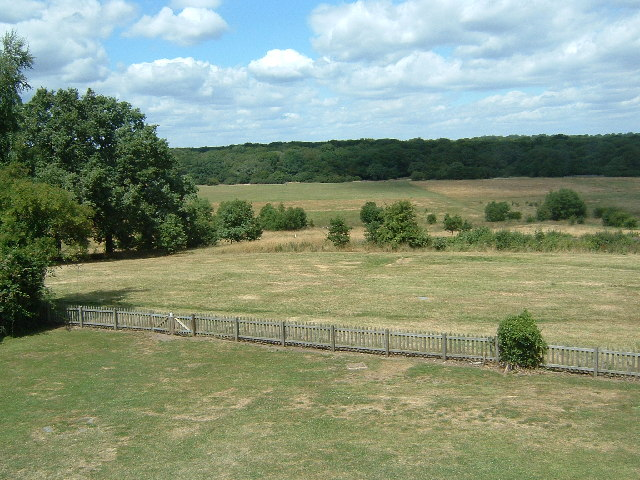 The View from Queen Elizabeth's Hunting Lodge, looking north across Chingford Plain