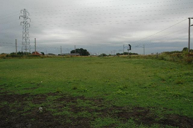 Railway Junction, Burtonwood