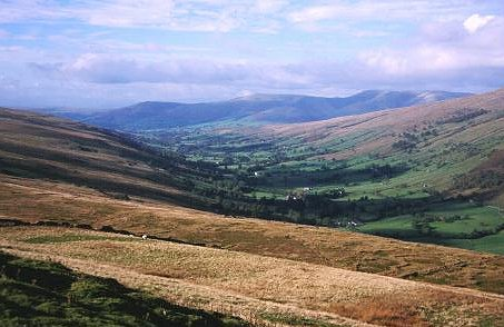 Garsdale from Snaizwold Fell.