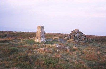 Rombald's Moor Trig point