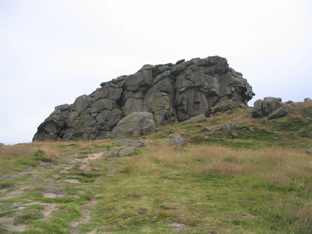Almscliff Crag North West Face
