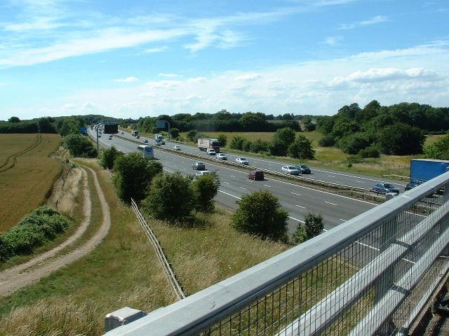 M4 Crossing nr Wickham