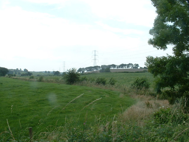 Farmland east of Over Kellet