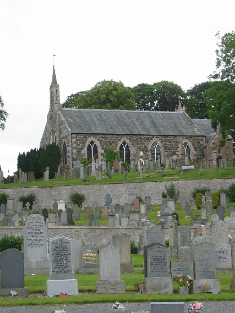 Fyvie church