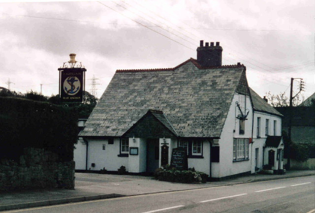Blue Anchor Inn at Fraddon