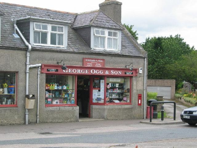 Village shop, Kirkton of Skene