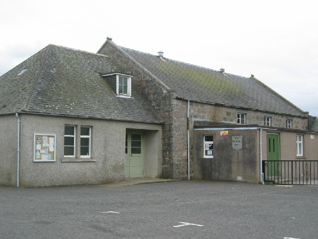 Milne Hall, Kirkton of Skene