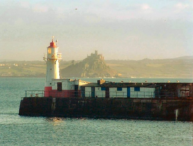Lighthouse - Newlyn Harbour