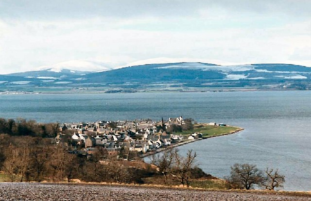 The town of Cromarty