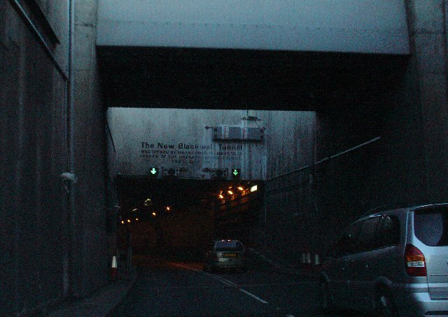 "Entrance to the ""New Blackwall Tunnel"" - A102 Southbound"